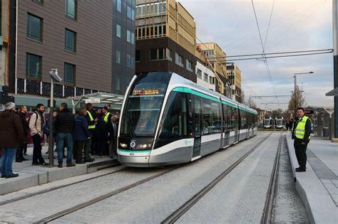 t8 le le tramway t8 en service connaissance du rail