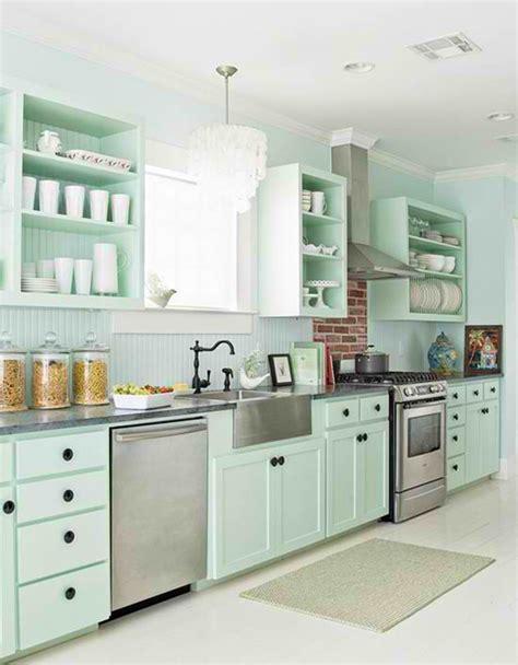 seafoam green kitchen 15 pastel green kitchens for a lighter look home design 2137