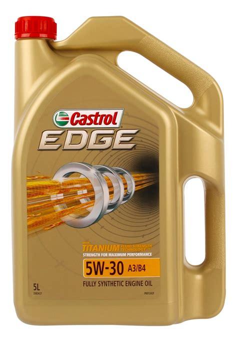 castrol edge 5w30 castrol edge 5w30 a3 b4 engine 5l 3383427 ebay