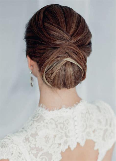 coiffure simple pour mariage chignon 7 diff 233 rents styles de chignon pour le mariage