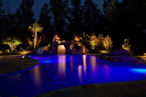low voltage pool cage lighting low voltage landscape lighting
