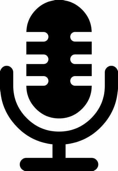 Microphone Icon Symbol Voice Svg Interface Onlinewebfonts