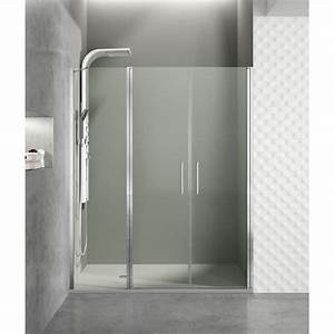 Paroi de douche portes battantes helia j robinet and co for Portes douche battantes