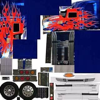 skin do optimus prime skins para o grand truck