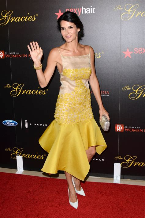 angie harmon  gracie awards  beverly hills