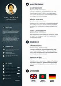 free creative resume templates descarga plantilla gratis curriculum vitae creativo free creative resume
