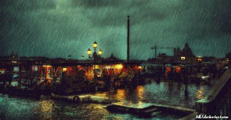 amazing rain animated gif images  animations
