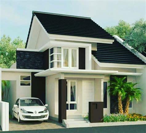 desain rumah desa sederhana  modern terbaru