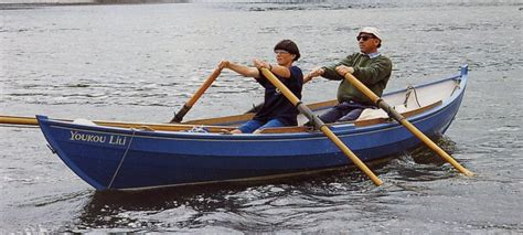 Efficient Boat Oars by Lug Rig
