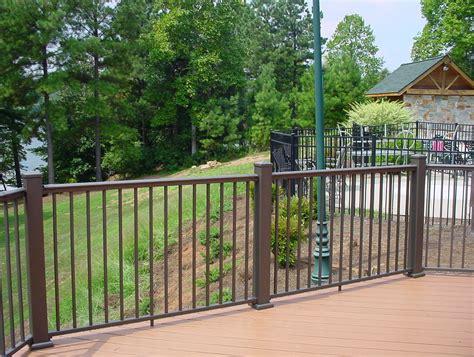 aluminum deck railing systems canada home design ideas