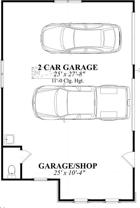 dimensions of a 2 car garage two car garage size smalltowndjs