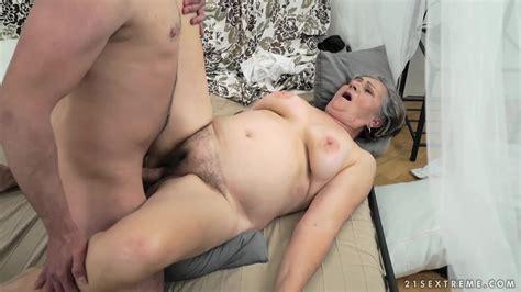 Mature Horny Granny Kata Takes Hard Pussy Pounding By