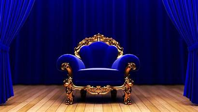 Chair Stage Wallpapers Throne Theater Curtain Phone