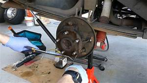 Rear Drum Brake Job On 1999 Cherokee