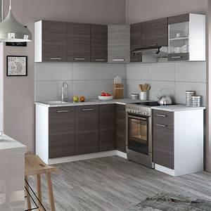 Küchenzeile L Form : vicco k chenzeile l form k chenblock winkel eck einbauk che komplett edel grau ebay ~ Bigdaddyawards.com Haus und Dekorationen