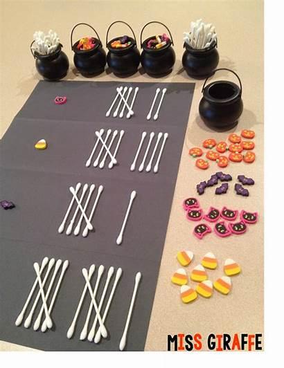 Math Tally Halloween Activities Preschool Bones Fun
