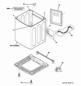 Ge Washer Tub  Suspension  U0026 Drive C     Parts