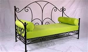 Banquette Fer Forgé : fabricant canap en fer forg ~ Teatrodelosmanantiales.com Idées de Décoration