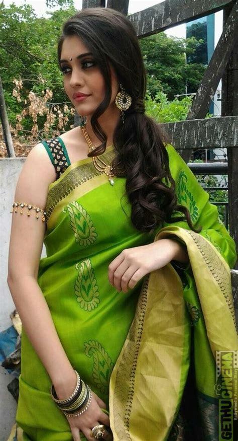 only surabhi green saree