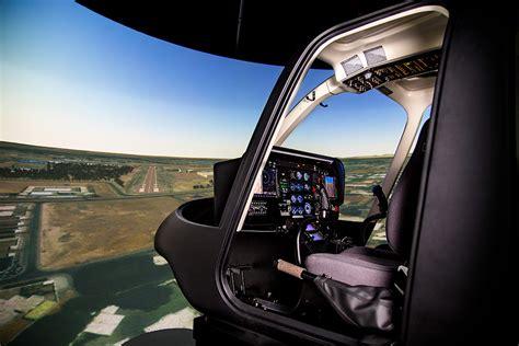Bell 407 Simulator - Frasca Flight Simulation