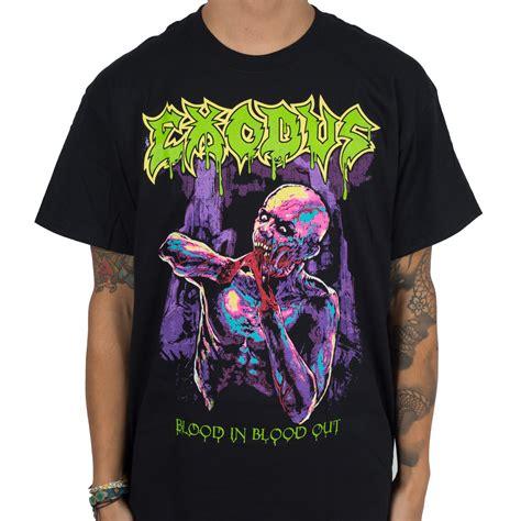 T Shirt Oceanseven A exodus quot blood in blood out quot t shirt indiemerchstore
