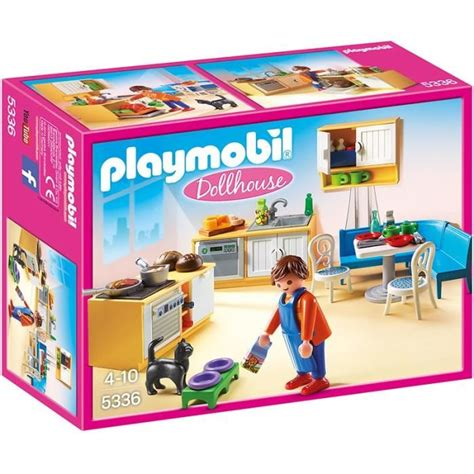 cuisine playmobile playmobil 5336 cuisine avec coin repas achat vente