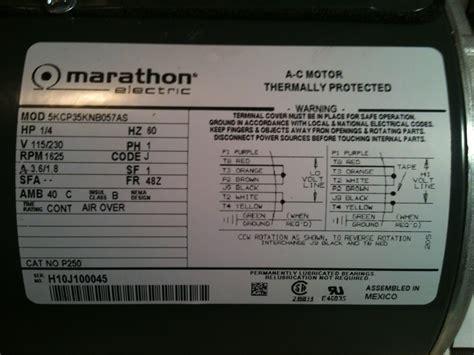 Motor Nameplate Data Kit Picture
