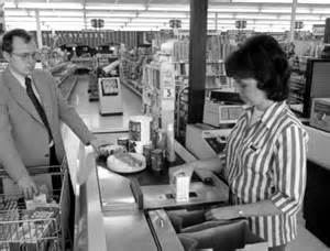 Image result for Marsh supermarket first bar code scanning equipment