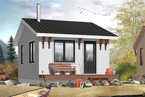 One Bedroom Kit House by Small Plan 320 Square 1 Bedroom 1 Bathroom 034 00174