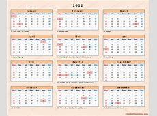 Kalender 2012 Indonesia Chocky Sihombing