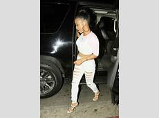 Christina Milian at Chris Browns birthday party01 GotCeleb