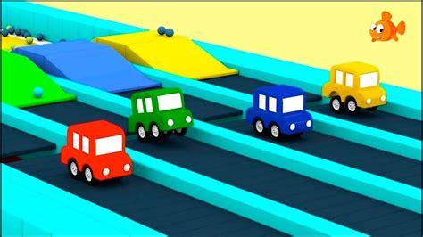 Jumping Cars Blocks Race!