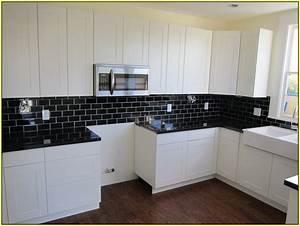 Black Tiles Kitchen Designs Inspiration Tile Modern With