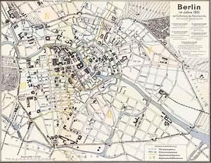 Günstig Essen Berlin : unbek verfasser stadtplan von berlin im jahre 1851 berliner stadtpl ne berlin stadt und karten ~ Orissabook.com Haus und Dekorationen
