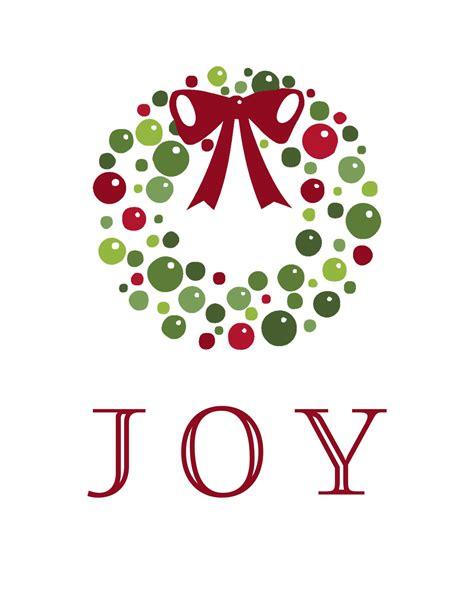 Holiday Joy Free Printable  Moritz Fine Designs