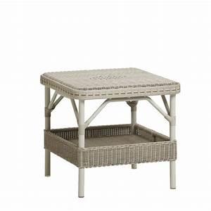 Table Basse Rotin : table basse de jardin en rotin synth tique brin d 39 ouest ~ Teatrodelosmanantiales.com Idées de Décoration