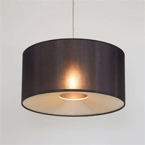 drum shade ceiling light small ribbon easy to fit ceiling shade drum black from