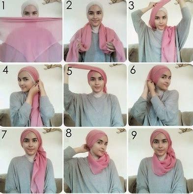 Inspirasi Cara Memakai Jilbab Untuk Interview Kerja - Kumpulan Contoh Kreasi Hijab Modern ...