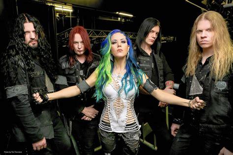 swedish band arch enemy headlines heavy metal  daily