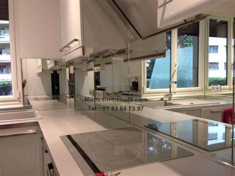 mur cuisine credence miroir argent2 professionnel du miroir sur