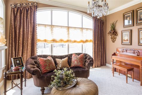 window valances for living room custom window treatments projects linly designs 13381