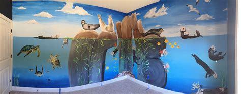 Monterey Bay Ocean Mural For A Nursery — Julie Ann. Labrador Signs Of Stroke. Fairy Garden Wall Murals. House Keeping Banners. Copyright Logo. Lightpost Banners. Pervasive Developmental Signs. Bazaar Banners. Difference Signs