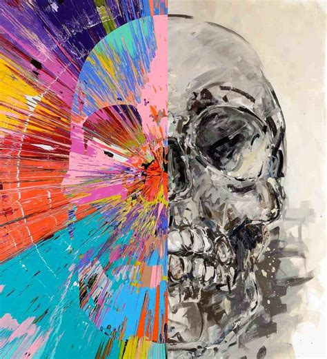 Modification Artist Known As Skull by Check Out This Beautiful Skull Painting By Acclaimed