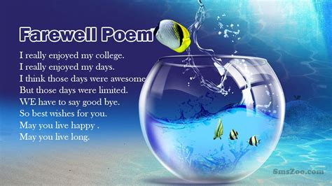 farewell poems  colleagues inspirational poems messages