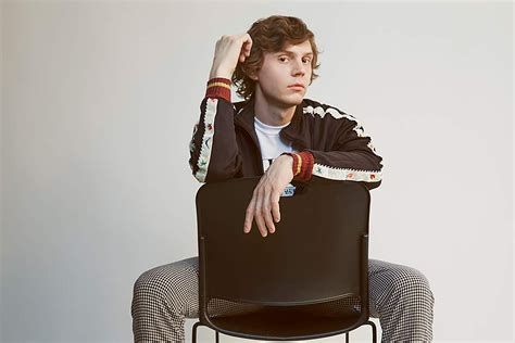 evan peters opens    role  pose photo
