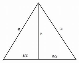 Seitenlänge Berechnen Dreieck : seitenl nge des gleichseitigen dreiecks mathelounge ~ Themetempest.com Abrechnung