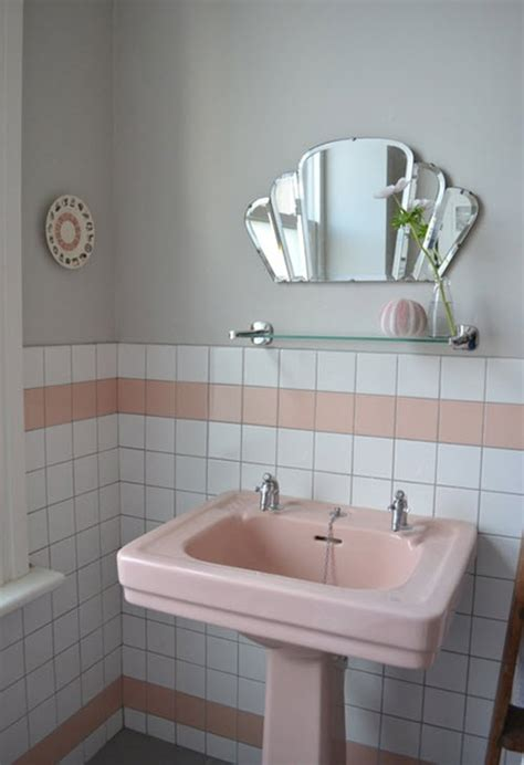 Retro Bathroom Ideas by 36 Retro Pink Bathroom Tile Ideas And Pictures