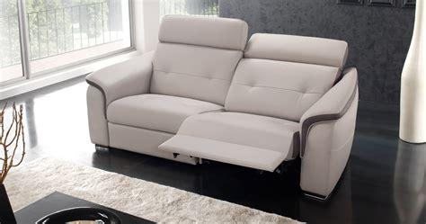 canap relaxation cuir electrique canapé relaxation électrique loreda cuir premium