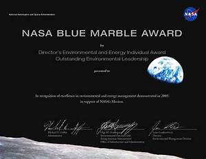 NASA - EVENTS AND AWARDS