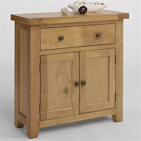 Oak 2 Door Sideboard by Small 2 Door 2 Drawer Sideboard Solid Oak Hallway